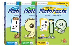 數學學習閃卡組(3盒)