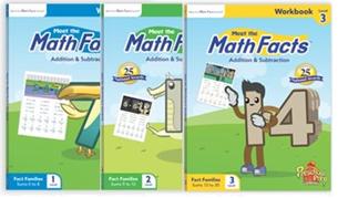 數學學習練習本組(3本)